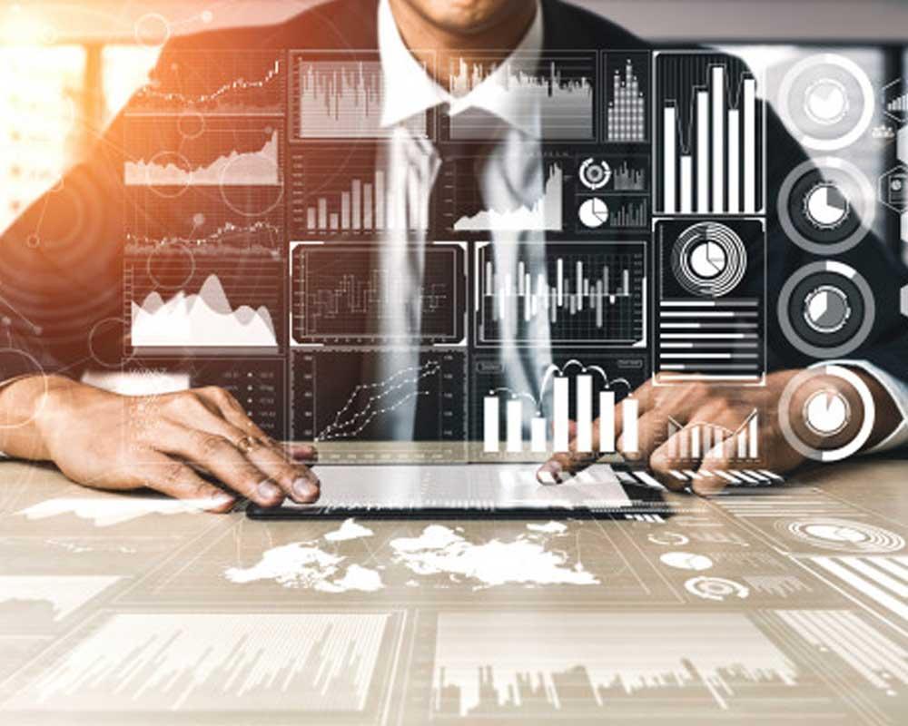 big-data-technology-business-finance-concept